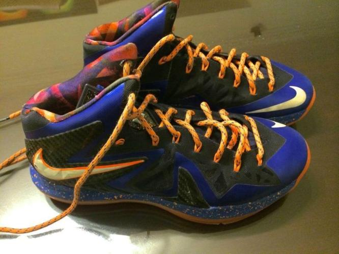 Real Lebron 10 Elites with real Signature