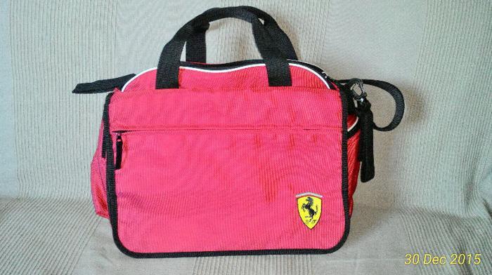 Red Ferrari Sling Bag