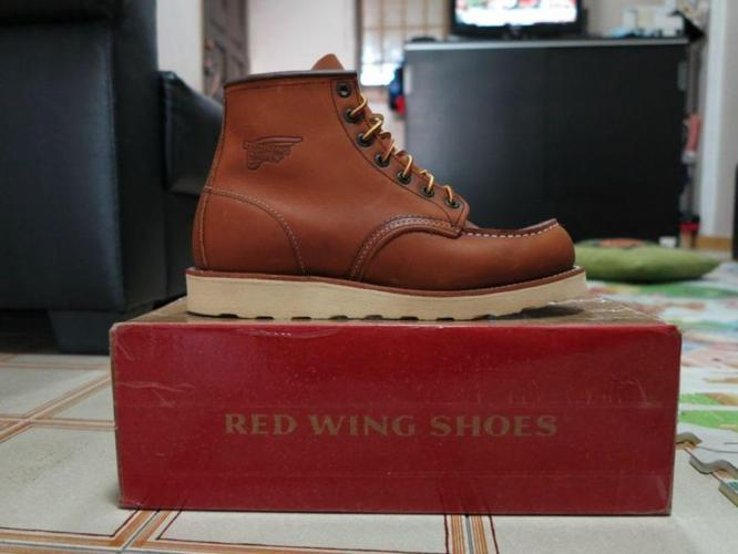 Red Wing 875 Classic Moc Toe