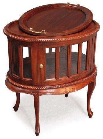 Resort Furniture, Oval and Rectangular Tea Tables, Teak
