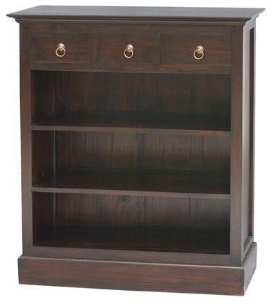 Resort Teak Bookcase Half Size, Low Priced Warehouse