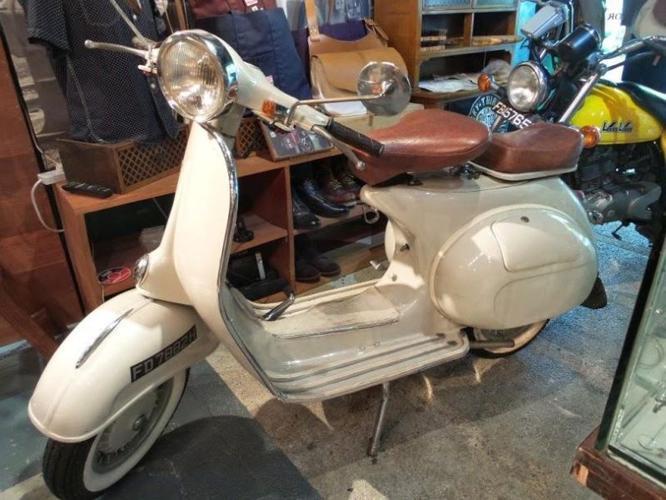 Restored Vintage Vespa PX150 for Sale in Bali Lane, Central