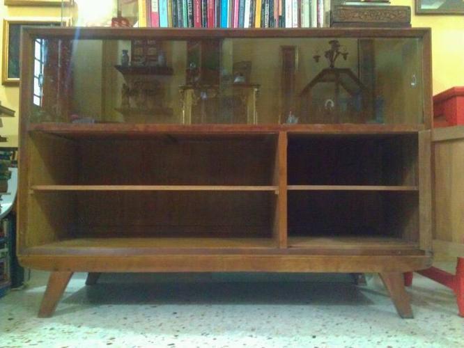 Retro Vintage Teak Wood Cabinet for Sale