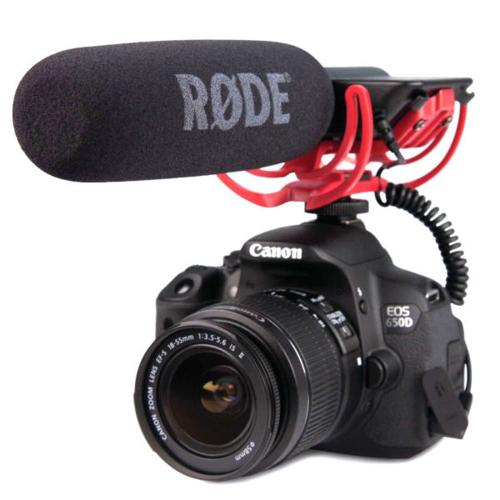 RODE GO VideoMic Microphone (Video mic)