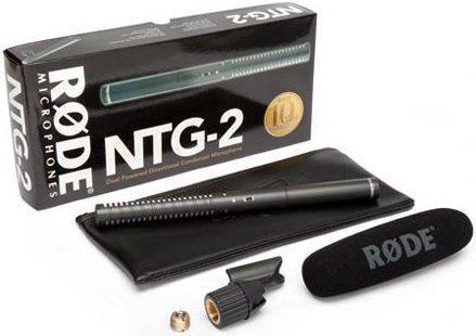 Rode NTG-2 Singapore,Rode Microphone NTG-2,NTG-2 Dual