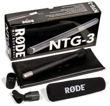 Rode NTG-3 Singapore,Rode Microphone NTG3,NTG3