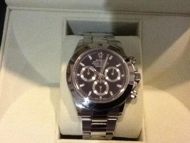 Rolex Daytona bought in Feb 2012