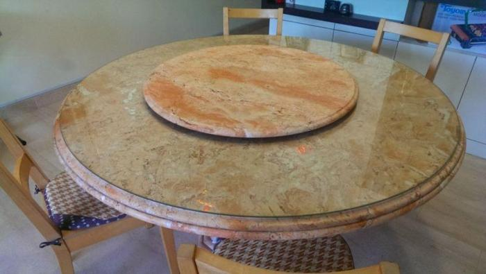 Rose marble table- antique