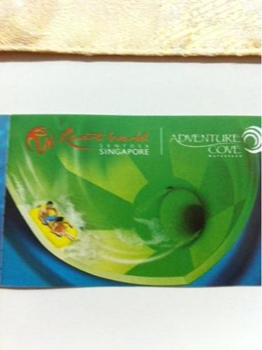 RW sentosa adventure cove tickets