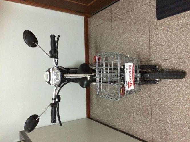 SALE - ALMOST NEW Electric Bicycle- TORNADO TYRA from