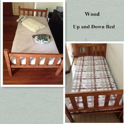 Sale Wood Bunk Bed Sets Good Condition Free Delivery For Sale In