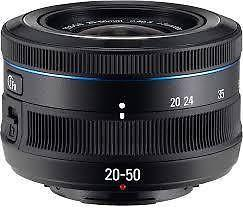 Samsung 20-50mm Lens for NX camera @ $70 only