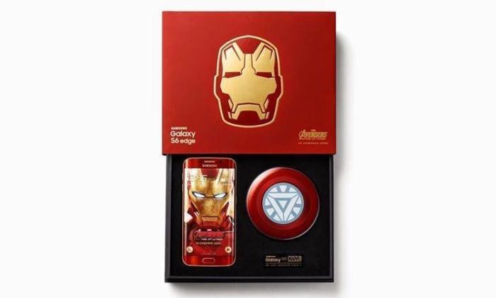 Samsung Galaxy S6 Edge Iron Man Limited Edition. Last