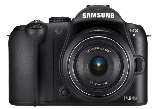 Samsung NX10 + 18-55mm kit lens APSC,3