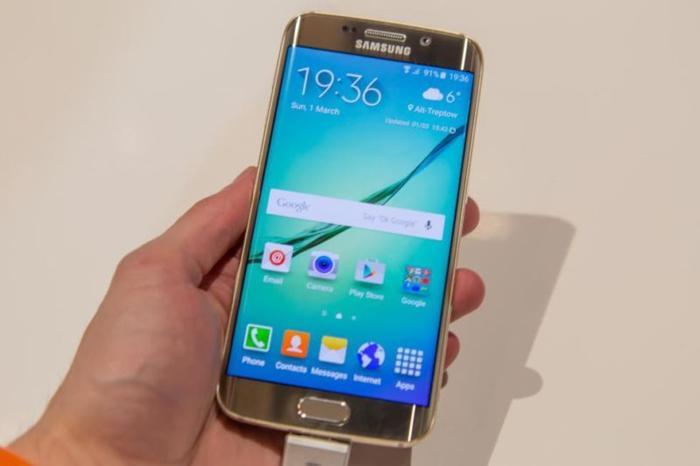 Samsung S6 Gold & Samsung S5 White