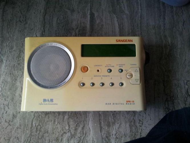 Sangean DAB digital radio