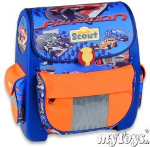 Scout ergonomic school backpack from Germany - F1 racing theme in ...