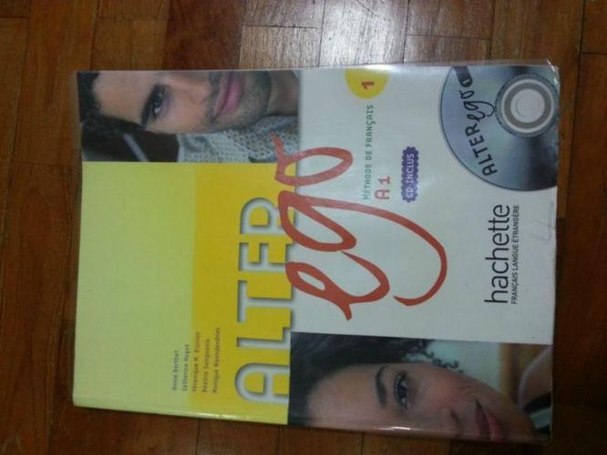 Sec 1 3rd Language French Text Book - Alter Ego 1 with