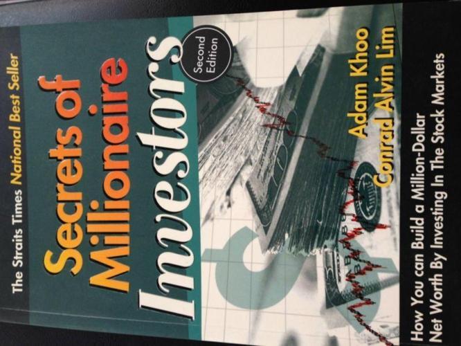 Secrets of Millionaire Investors by Adam Khoo & Conrad