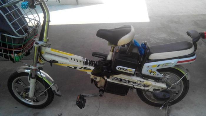 Sell electric bike SUV 7 good batt 48V with trottle