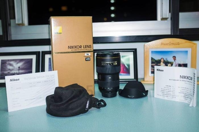 Sell lens Nikon 16-35mm f/4 VR