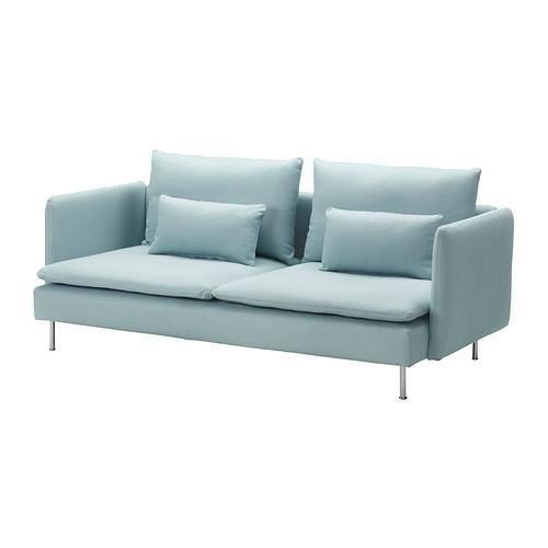 [Selling AS NEW] SÖDERHAMN Three-seat sofa - IKEA
