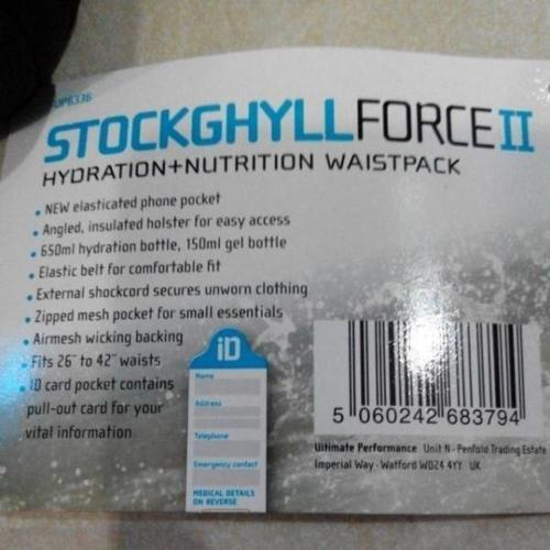 Selling Brand New Stockghyll Force II jogging running