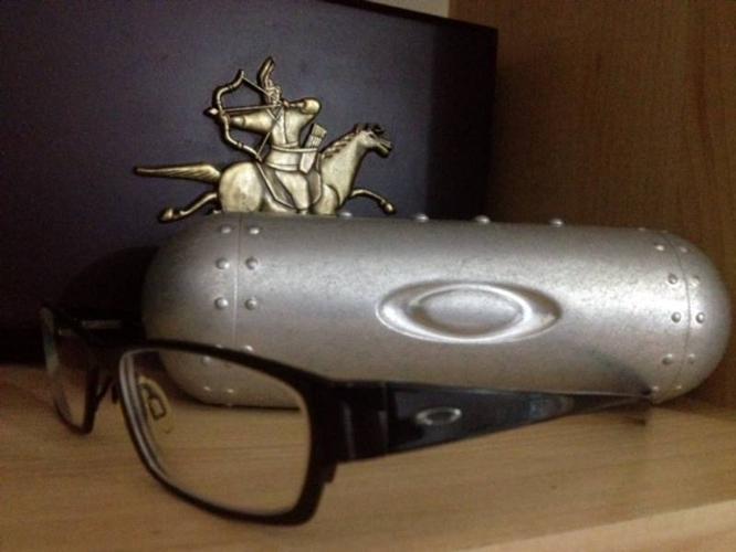 Selling for $65 - Oakley Spectacles frame & Oakley case