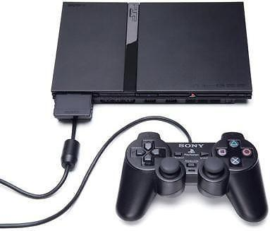 Selling PS2 slim with memory card and games