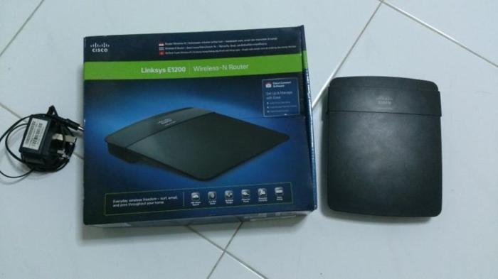 selling used wifi router linksys