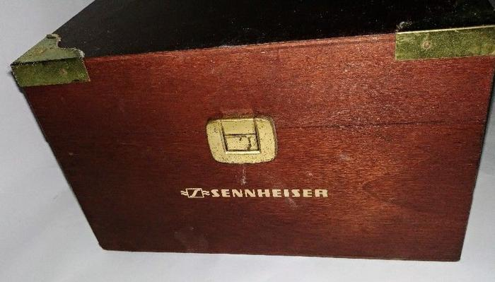 Sennheiser Limited Edition Wooden Box for Headphone