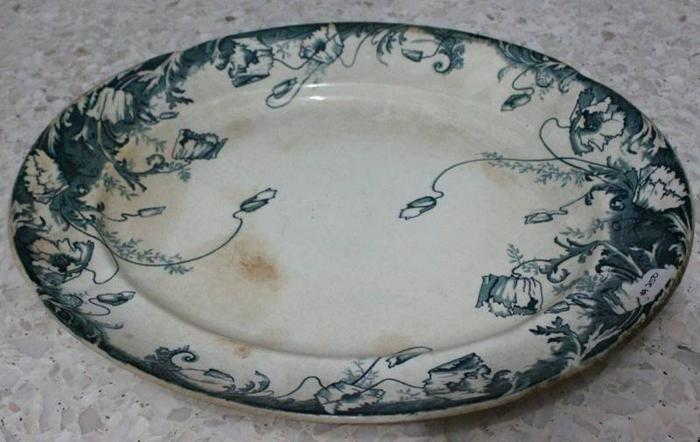 Serving plate 46cmW, Changi Junk Store