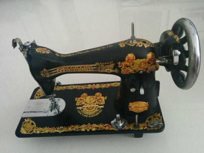 Sewing Machine Vintage Antiques Standard Manufacturing