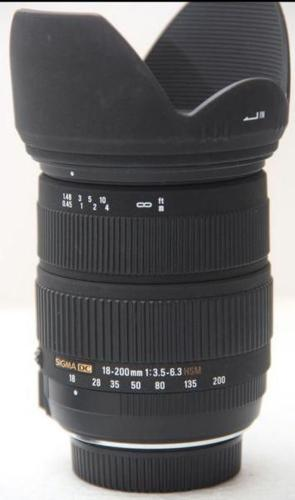 Sigma 18-200 DC OS HSM