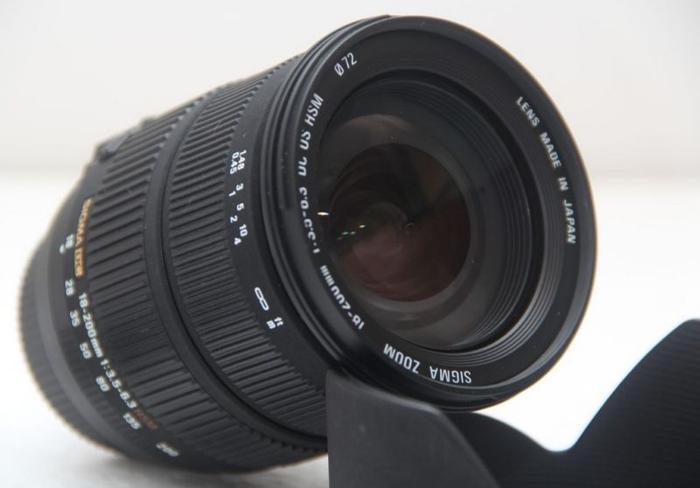 Sigma for Nikon 18-200mm DC Optical Stabilizer HSM