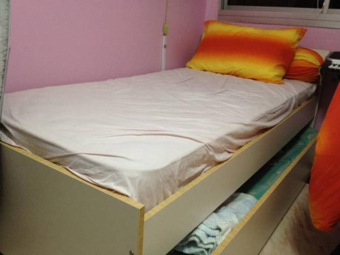 Single Bed With Pullout Bed Frame Only For Sale In Serangoon Avenue