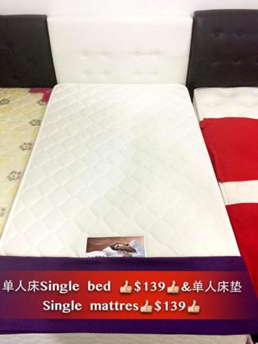 Single Mattress And Frame Combo $260 Nett