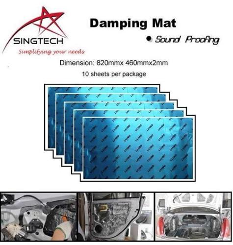 SingTech Car Sound Proof Damping Mat