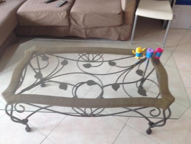 Six Seater Glass Top Dining Table For Sale - Condition