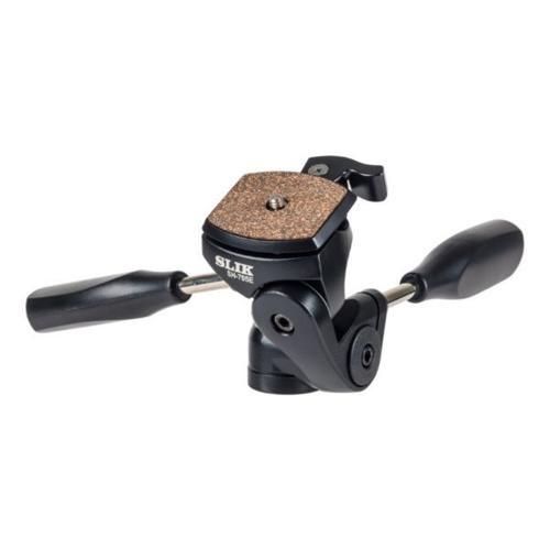 SLIK SH-705E 3-Way PanTilt Head (Quick Release)