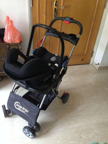 Snap N Go infant car seat stroller (incl. used Maxi