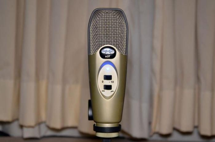 SOLD! CAD U37 Microphone For Sale