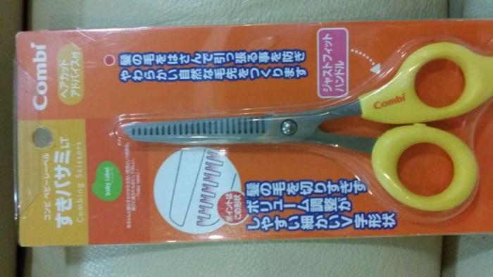 SOLD! Combi - Combing Scissor for cutting Baby's hair