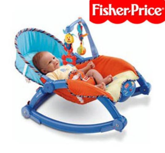 **SOLD** USED: Fisher Price Newborn-to-Toddler Rocker