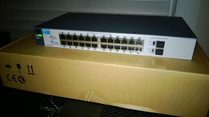 SOLD - HP ProCurve 1810G-24 - 24 Ports Giga Managed