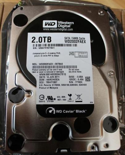 SOLD - Western Digital WD Black WD2002FAEX 2TB 64MB