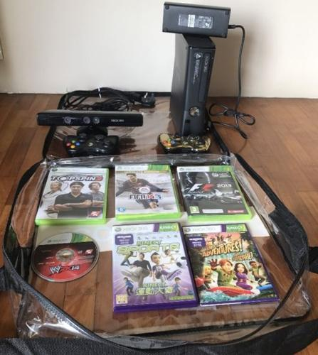 [SOLD] XBOX 360 Console (250 GB Hard drive) and 2