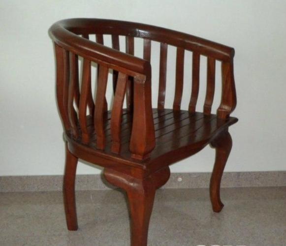 Solid Teakwood Arm-Chair