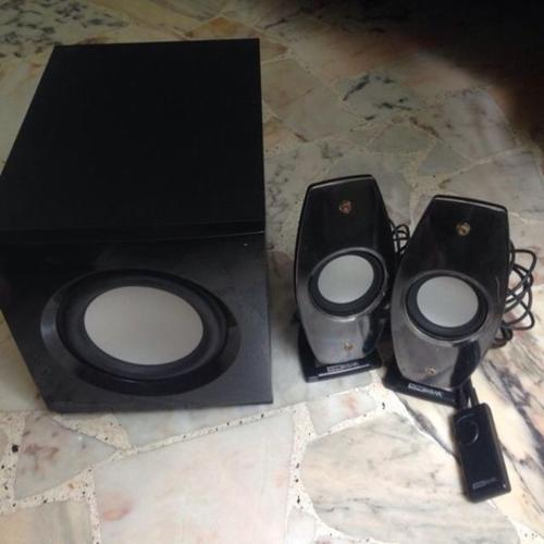 Sonic Gear Multimedia Speaker System Model