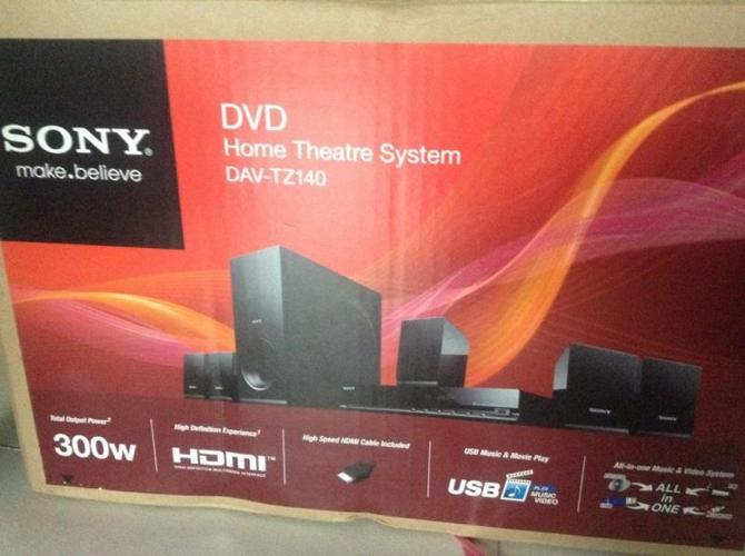 Sony DVD Home Theater System -DAV-TZ140
